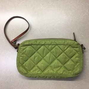 Large J Crew quilted wristlet